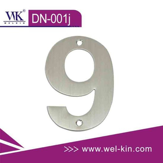 Stainless Steel Door Number (DN-001J)