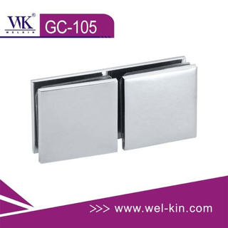 Chrome Glass Clips (GC-105)