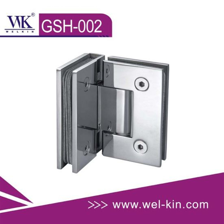 Stainless Steel 304 Pss 5mm 90 Degree Bathroom Hinge (GSH-002)