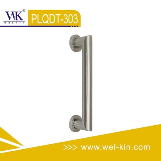 Stainless Steel Quality Tube Handle for Wood Door (PLQDT-303)
