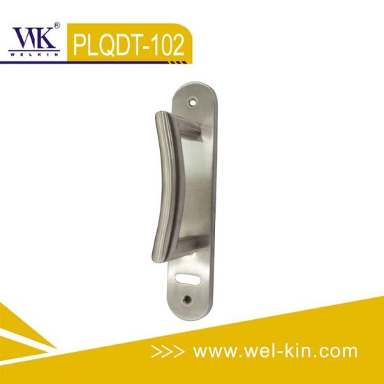 Inox 304 Handle on Long Plate (PLQDT-102)