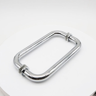 china Stainless Steel Pull Handle factory for Wood Door and Glass Door