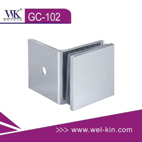 90 Degree Single Side Glass Clips for Glass Door (GC-102)