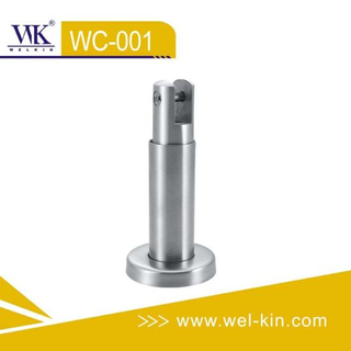 Toilet Cubicle Fittings Stainless Steel Casting Bracket Feet (WC-001)